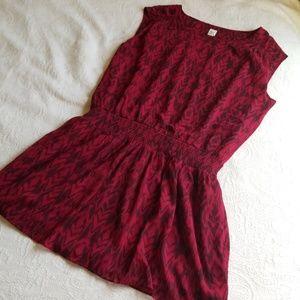 · GAP Boho Large Tunic blouse NWOT Pattern ·